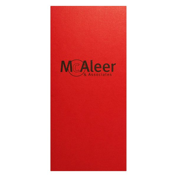 McAleer Human Resources Presentation Folder (Front View)