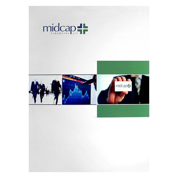 MidCap Financial Presentation Folder (Front View)