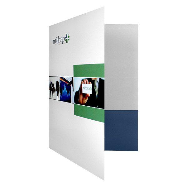 MidCap Financial Pocket Folder (Front Open View)