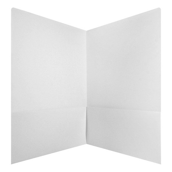 Monticello Capital Blank Pocket Folder (Inside View)