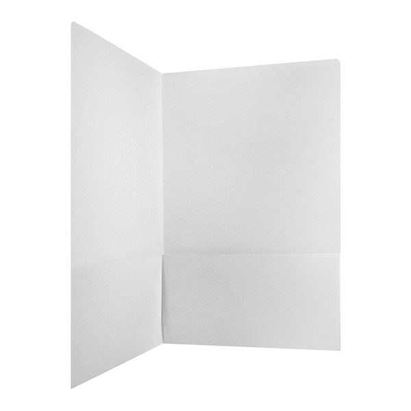 Monticello Capital White Pocket Folder (Inside Pocket View)
