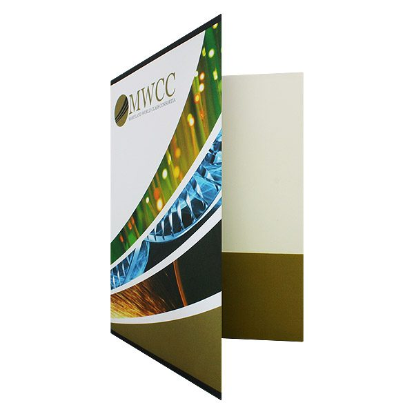 MWCC Full Color Presentation Folder (Front Open View)