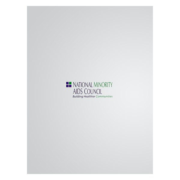 National Minority AIDS Council Presentation Folder (Front View)
