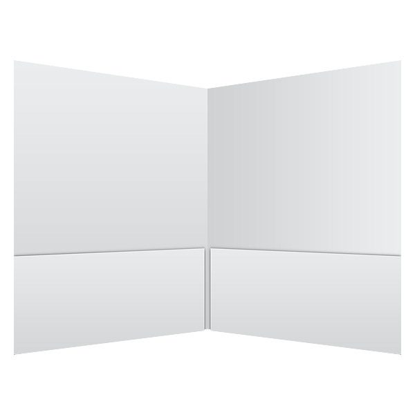 National Minority AIDS Council Plain White Pocket Folder (Inside View)