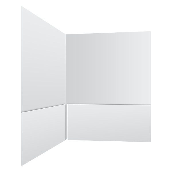 National Minority AIDS Council 2-Pocket Blank Folder (Inside Right View)