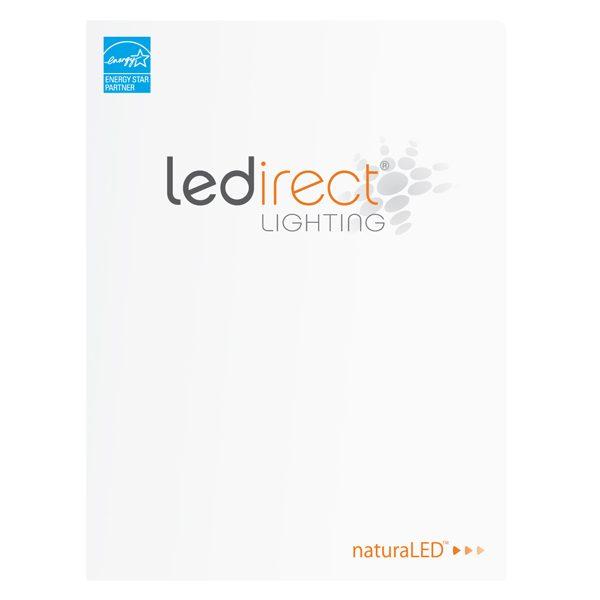 naturaLED Laminated Two Pocket Folder (Front View)