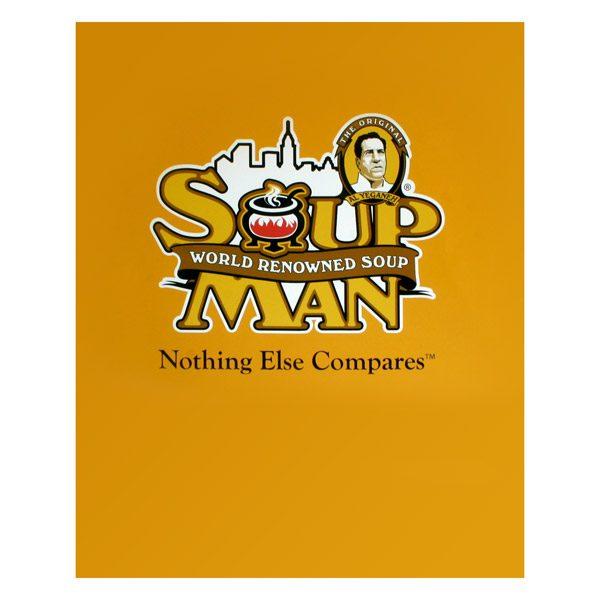 The Original Soup Man NYC Presentation Folder (Front View)