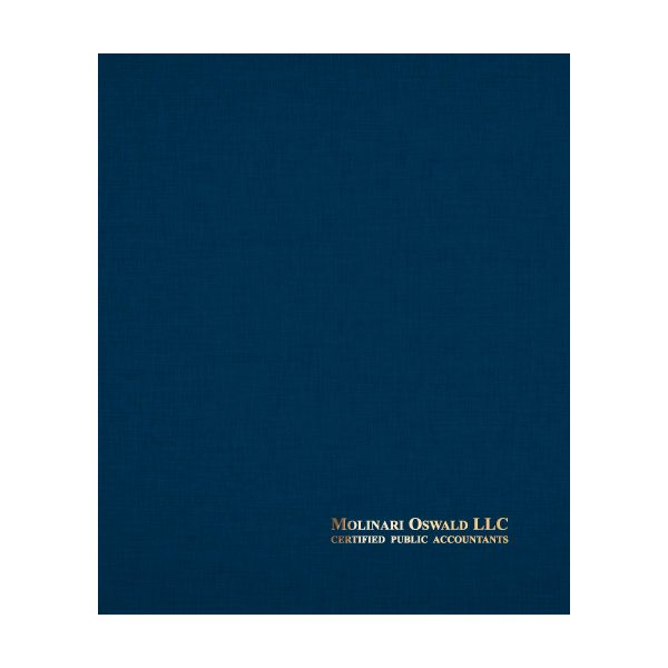 Molinari Oswald CPA File Presentation Folder (Front View)