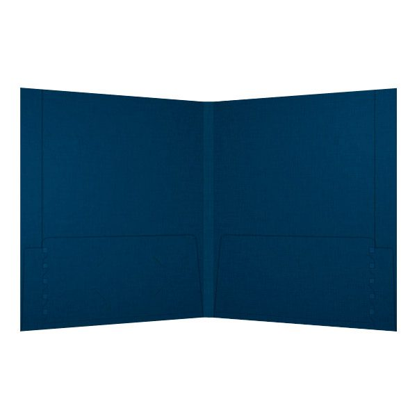 Molinari Oswald Reinforced Pocket Folder (Inside View)