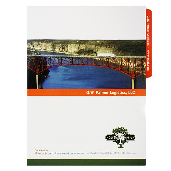 CMYK Folder Design Example