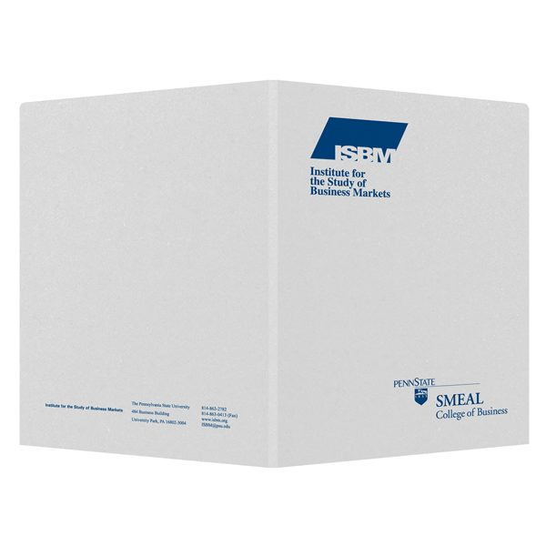 Penn State Business Presentation Folder (Front and Back View)