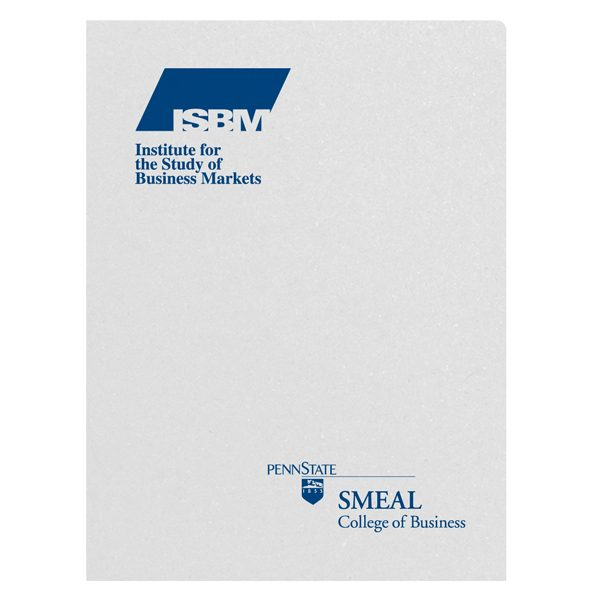 Penn State College of Business Presentation Folder (Front View)