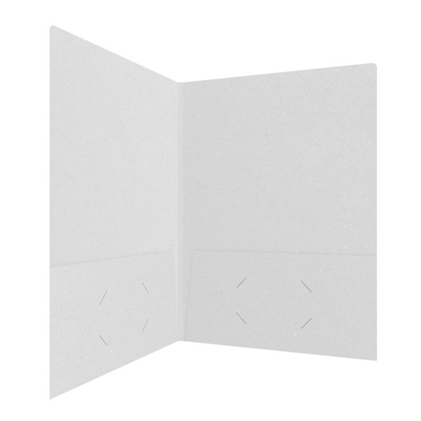 Penn State Blank Grey Presentation Folder (Inside Right View)