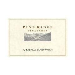 Pine Ridge Vineyards Invitation Pocket Folder (Front View)