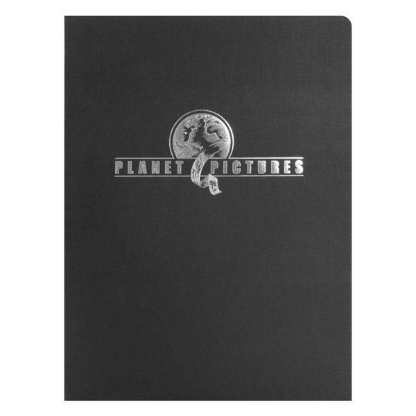 Planet Pictures Media Presentation Folder (Front View)
