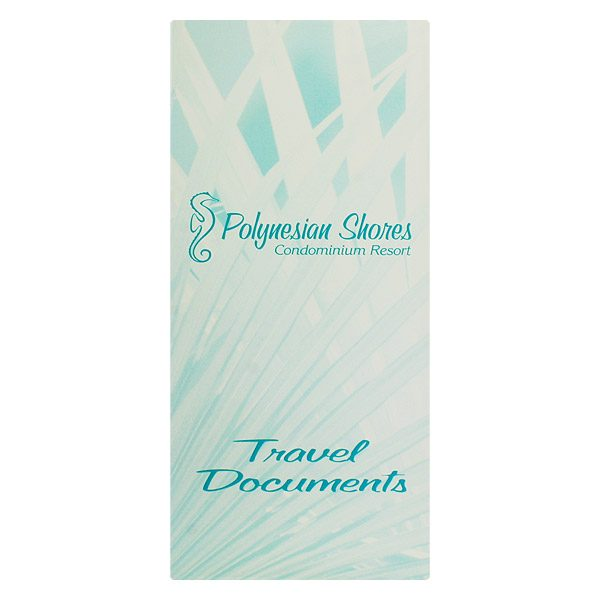 Polynesian Shores Multi-Pocket Folder (Front View)