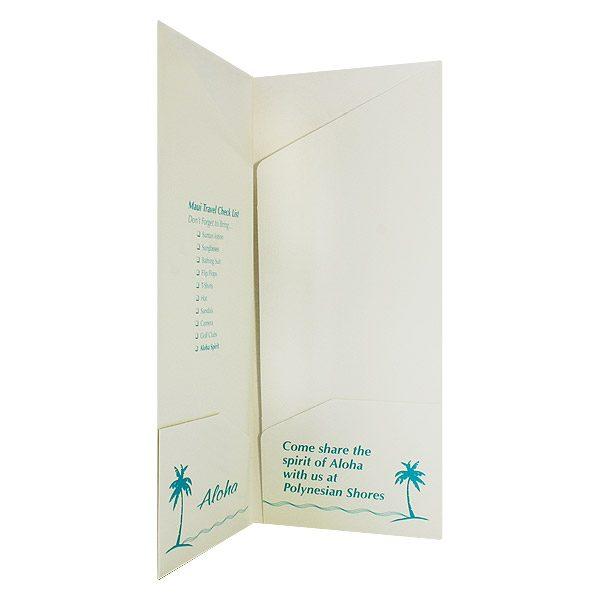 Polynesian Shores Multi-Pocket Presentation Folder (Inside Right View)