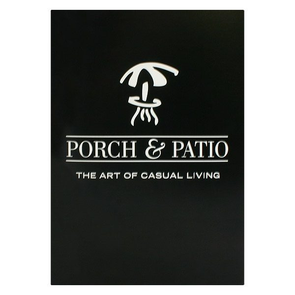 Porch & Patio Furniture Presentation Folder (Front View)