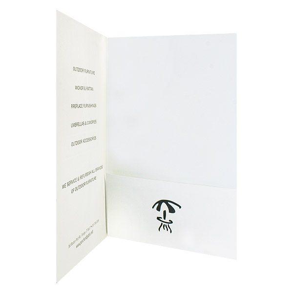 Porch & Patio Umbrella Pocket Folder (Inside Pocket View)