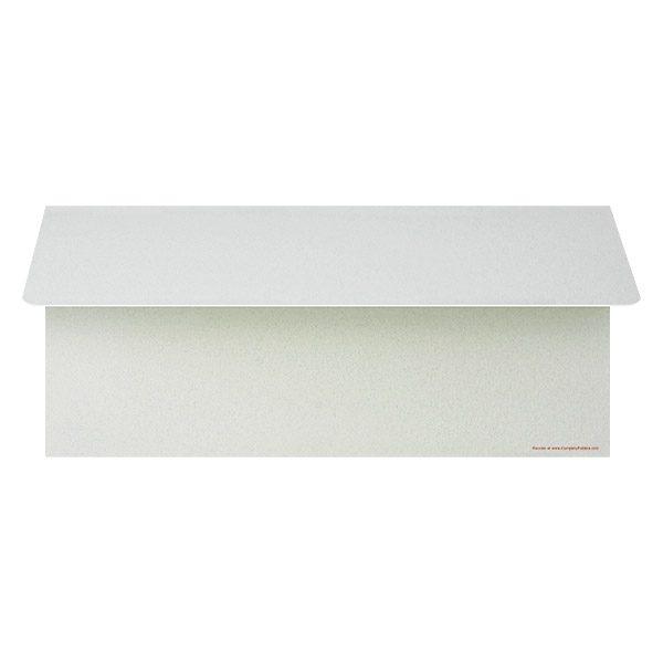 Quattro Motors Blank Wallet Style Folder (Back Open View)