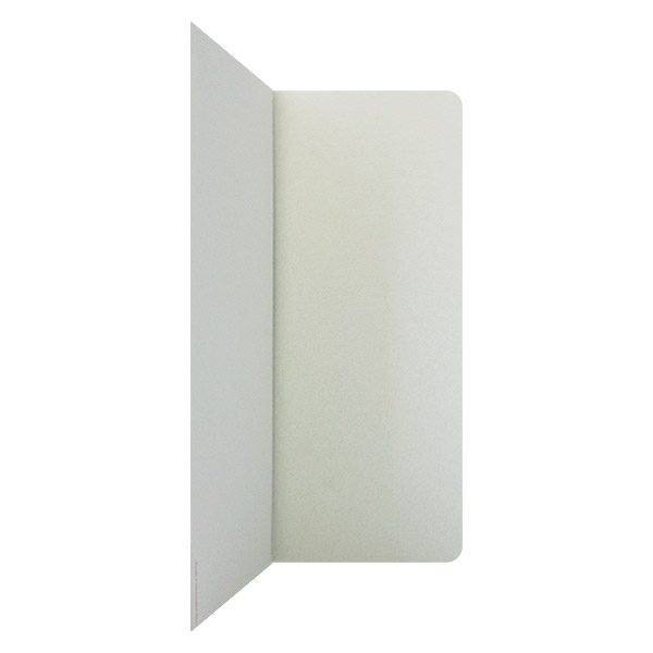 Quattro Motors Plain White Document Folder (Inside Right View)