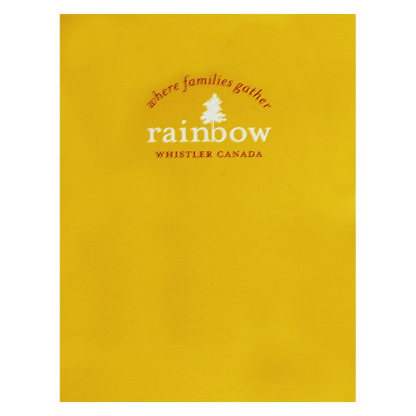Rainbow Whistler Real Estate Presentation Folder (Front View)