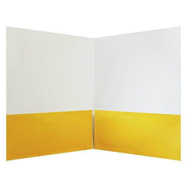 Rainbow Whistler Real Estate Pocket Folder (Inside View)