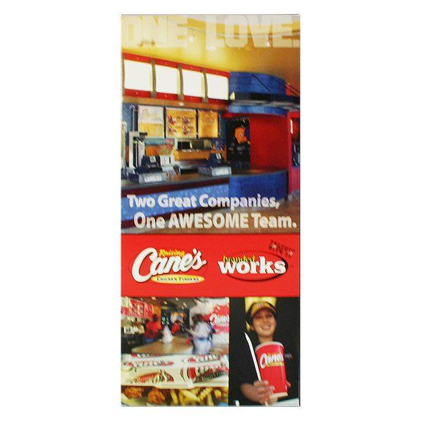 Raising Caine's Employee Presentation Folder (Front View)
