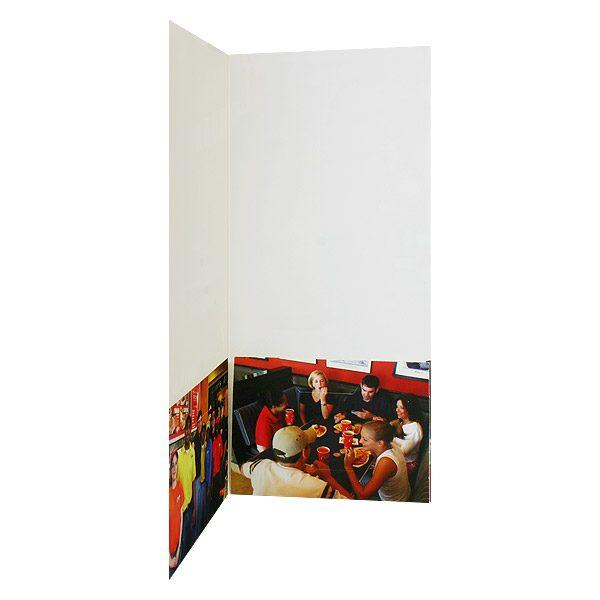 Raising Caine's New Hire Presentation Folder (Inside Right View)