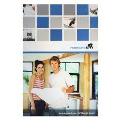 Renovate First Home Improvement Presentation Folder (Front View)
