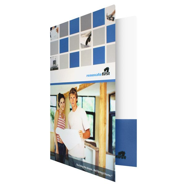 Renovate First Home Repair Folder (Front Open View)