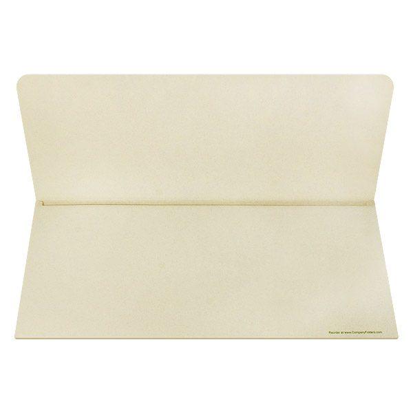 Rest Haven Cemetery Plain Document Folder (Inside View)