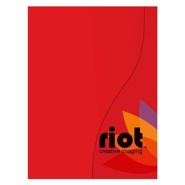 Riot Creative Presentation Folder (Front View)