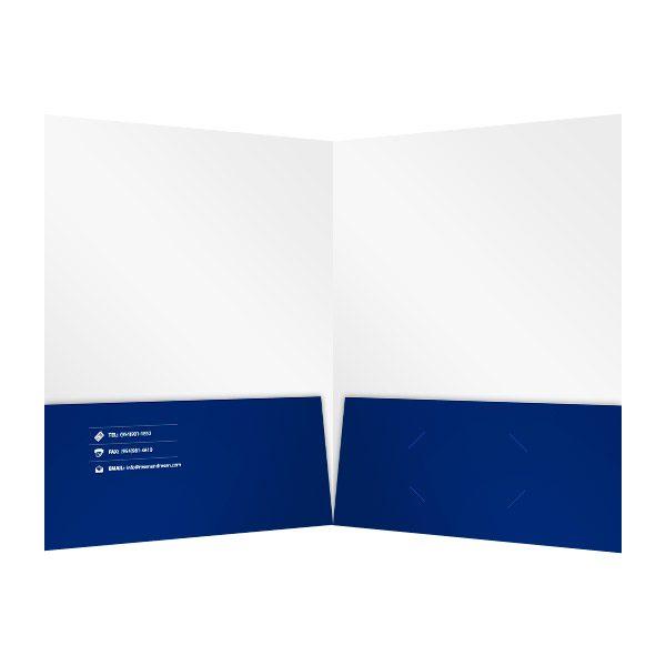 Cool Folder by Rosen & Rosen (Inside View)