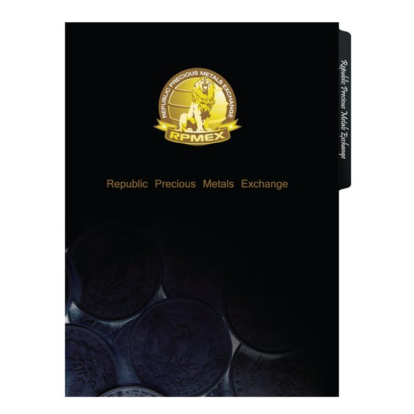 RPMEX 2-Pocket File Folder (Front View)