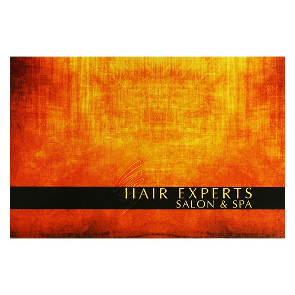 Hair Experts Salon & Spa Gift Card Holder (Front View)