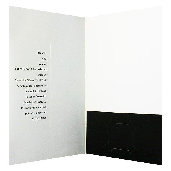 Sandy Cameron CD Pocket Folder (Inside View)
