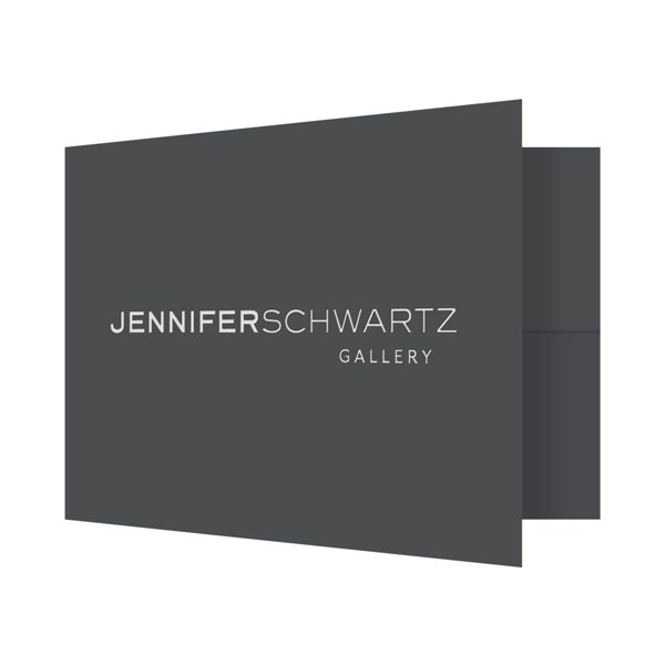 Jennifer Schwartz Artistic Presentation Folder (Front Open View)