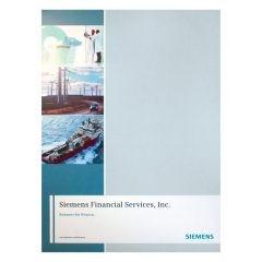 Siemens Financial Services Presentation Folder (Front View)