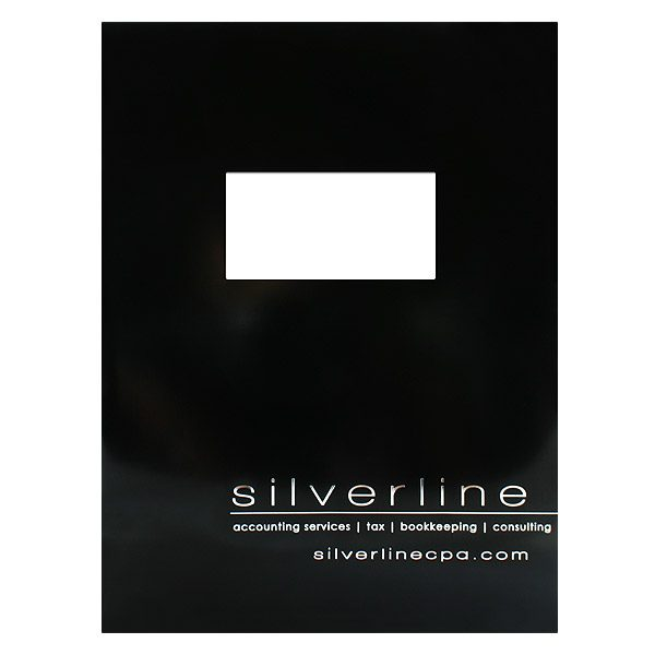 Silverline Tax Accounting Folder (Front View)