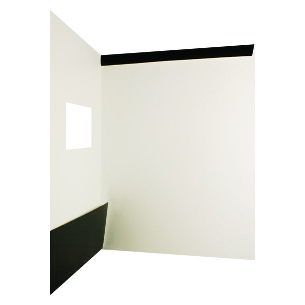 Silverline Single Pocket Tab Folder (Inside Tab View)