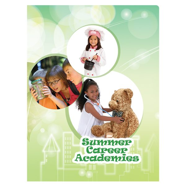 Summer Career Academies Student Pocket Folder (Front View)