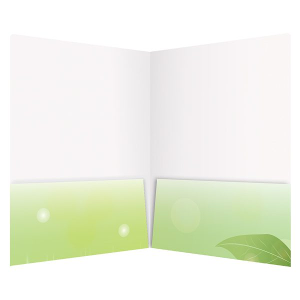 Summer Career Academies 2-Pocket Folder (Inside View)
