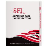 Superior Fire Investigations Two Pocket File Folder