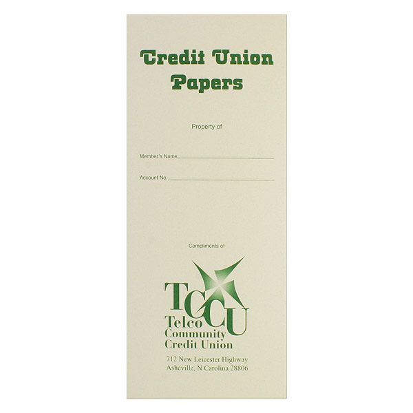 Telco Community Credit Union Document Folder
