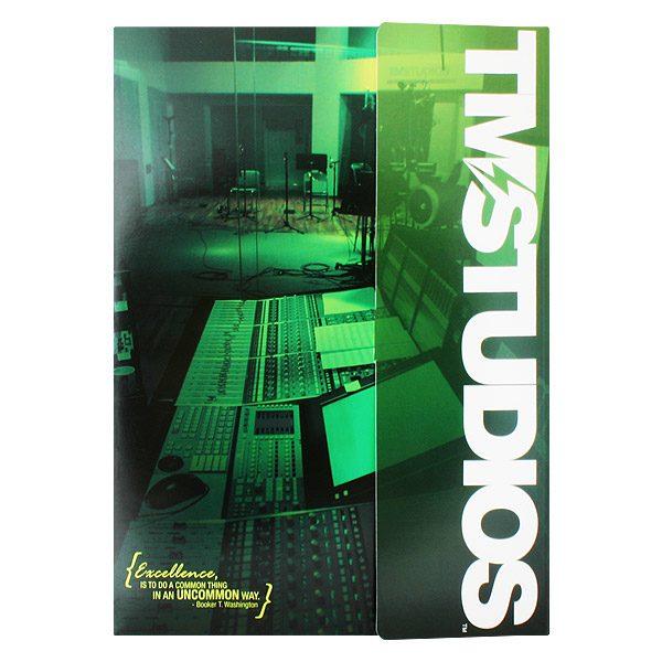 TM Studios Tri-Fold Pocket Folder (Front View)