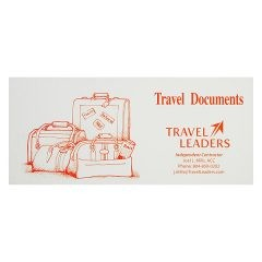 Travel Leaders Travel Document Folder (Front View)