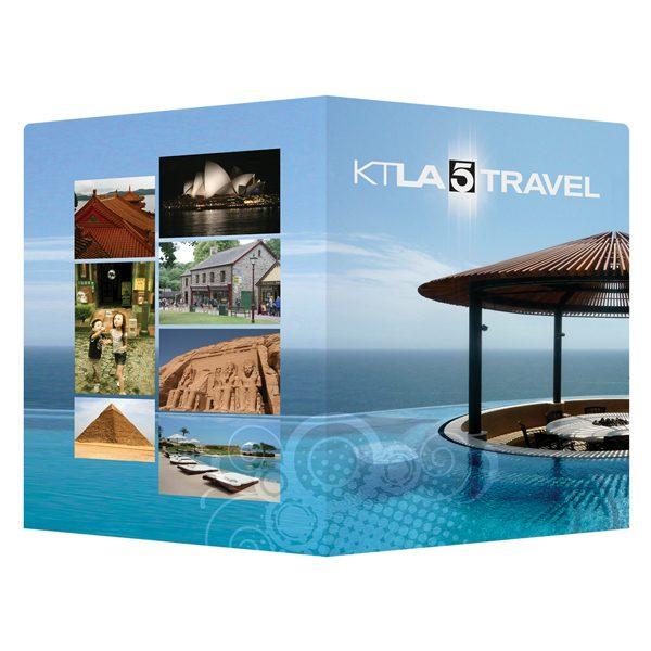 KTLA 5 Travel Presentation Folder (Front and Back View)
