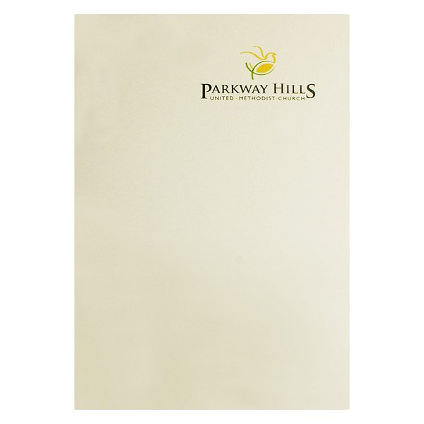 Parkway Hills United Methodist Church Folder (Front View)