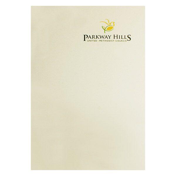 Parkway Hills United Methodist Church Folder (Front View)